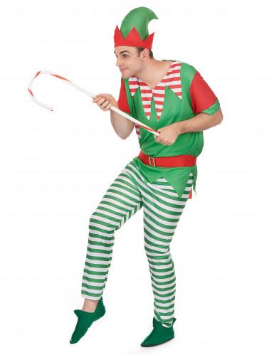 Paartner Weihnachts-Elfen Kostüm-1