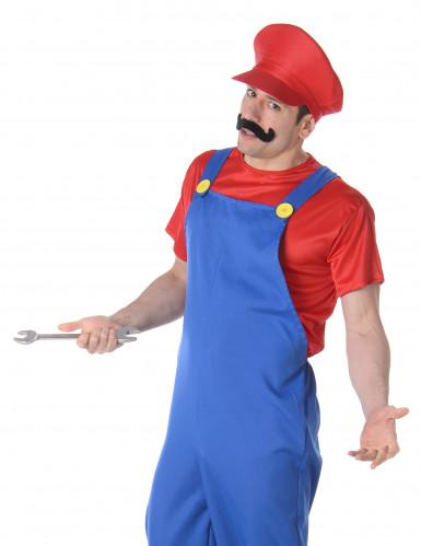 Rotes Klempner Kostüm für Erwachsene-1