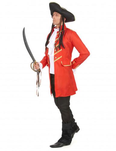 Rotes Piratenkostüm für Erwachsene-1