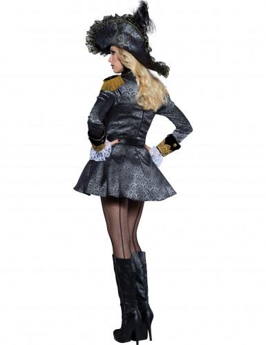 Piratin der Weltmeere Kostüm - Deluxe-1