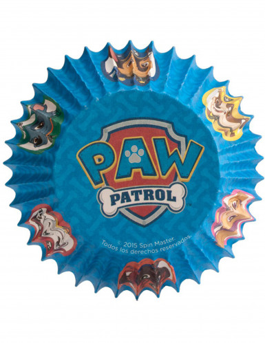 50 Muffin-Förmchen Paw Patrol™-1