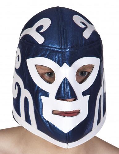 Blaue Wrestling Maske