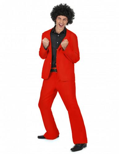 Rotes Disco Kostüm-1