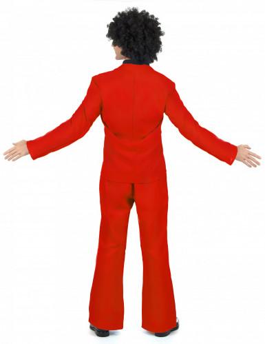 Rotes Disco Kostüm-2