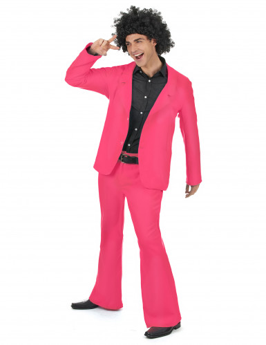 Rosa Disco Kostüm-1