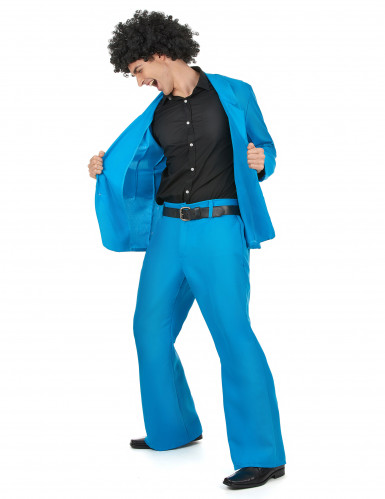 Blaues Disco Kostüm-1