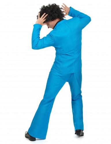 Blaues Disco Kostüm-2