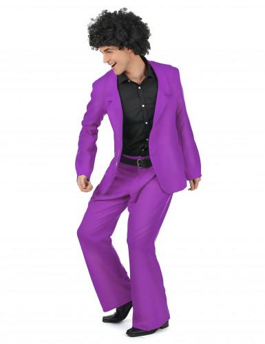 Lila Disco Kostüm-1