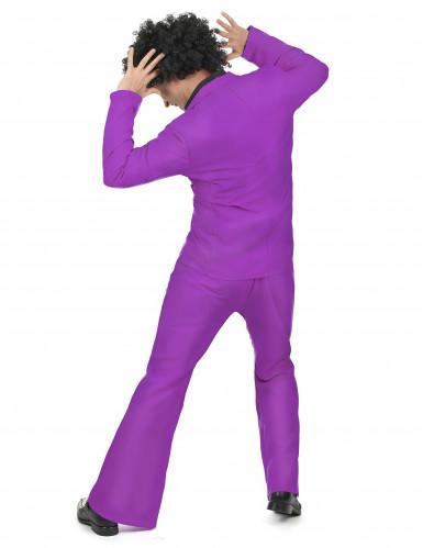 Lila Disco Kostüm-2