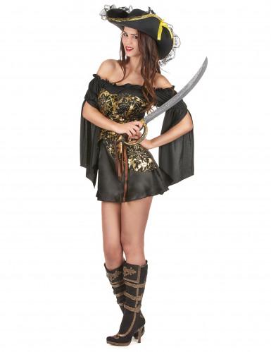 Piraten Kostüm für Damen-1