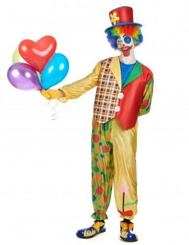 Schrilles Clown Kostüm-1