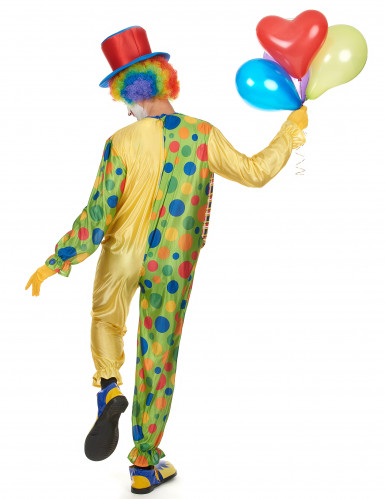 Schrilles Clown Kostüm-2
