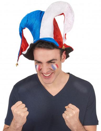 Hofnarr-Hut für französischen Fan-1
