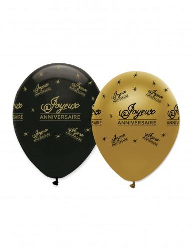6 Luftballon - Happy Birthday