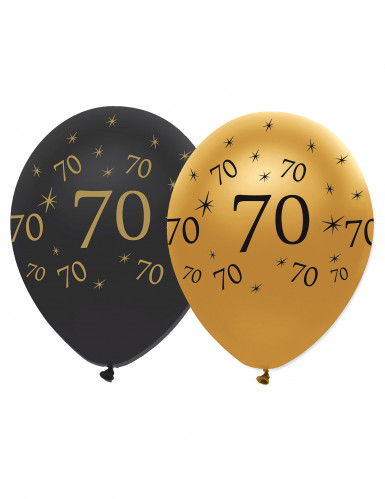 Luftballons 70. Geburtstag