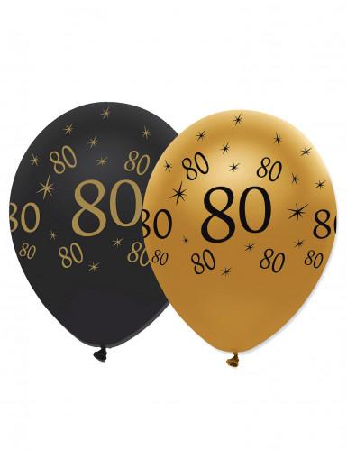 Luftballons 80. Geburtstag