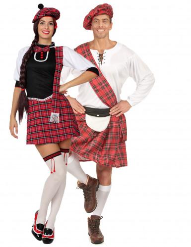 Schottenkostüm-Set für Paare