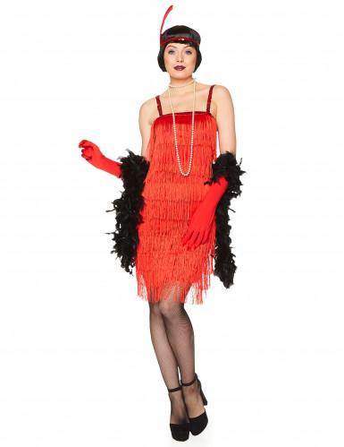 Charleston Damen-Kostüm rot-1