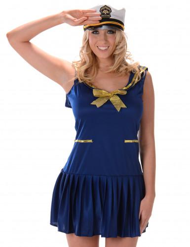Sexy Marine Kostüm für Damen-1