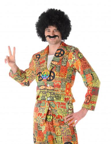 Hippie-Herrenkostüm bunt-1