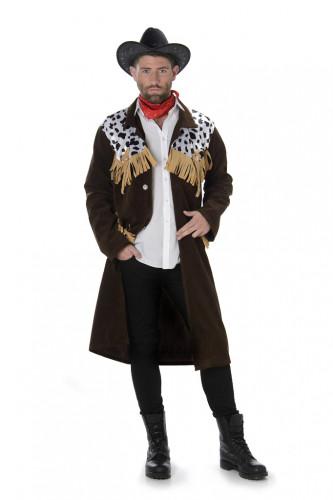 Cowboy-Kostüm für Herren Western braun-beige-weiss