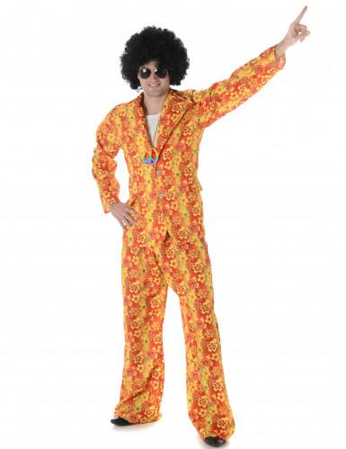 Hippie Disco Kostüm für Herren