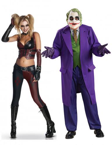 Joker & Harley Quinn Kostüm-Set für Paare