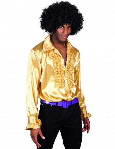 Goldenes Disco-Hemd