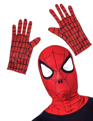 Spiderman™-Set für Kinder - Strumpfmaske und Handschuhe