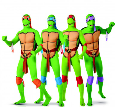 Ninja- Turtles™ Groupen Kostüm
