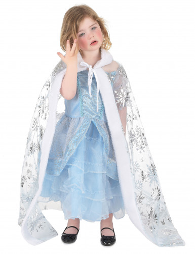 Schneekönigin-Umhang für Mädchen