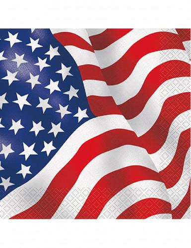 16 USA Servietten