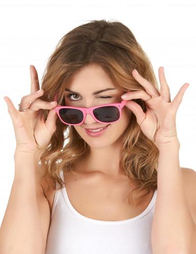 Sonnenbrille neonpink-1