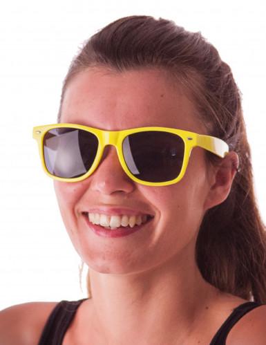 Sonnenbrille neongelb