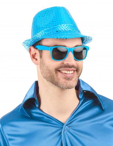 Blaue Blues-Brille für Erwachsene-1