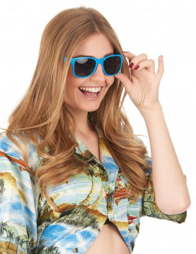 Blaue Blues-Brille für Erwachsene-2