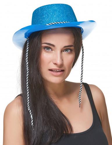 Blauer Cowgirl-Hut-1
