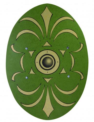 Römischer Schutzschild aus Holz 35 x 49 cm