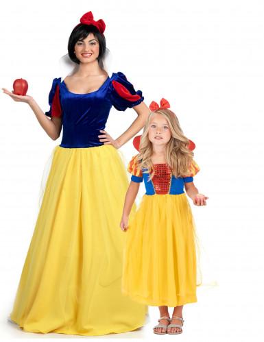 Märchenprinzessinnen-Kostüm für Mutter und Tochter