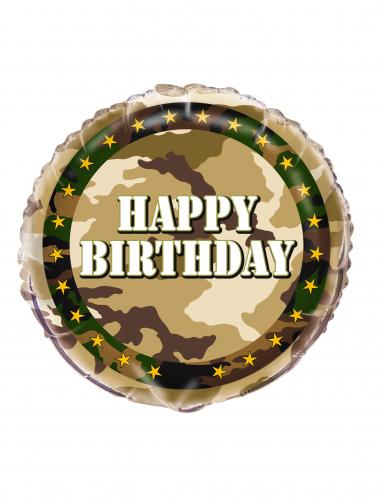 Militär Luftballon - Happy Birthday