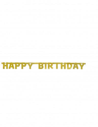 GoldeneHappy BirthdayGirlande 121cm