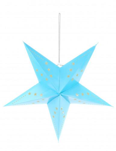 Blaue Stern Laterne