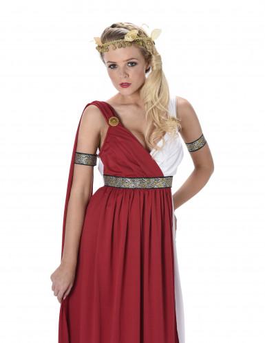 Elegantes Römerinnen Kostüm für Damen-1