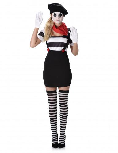 Pantomimen Kostüm für Damen