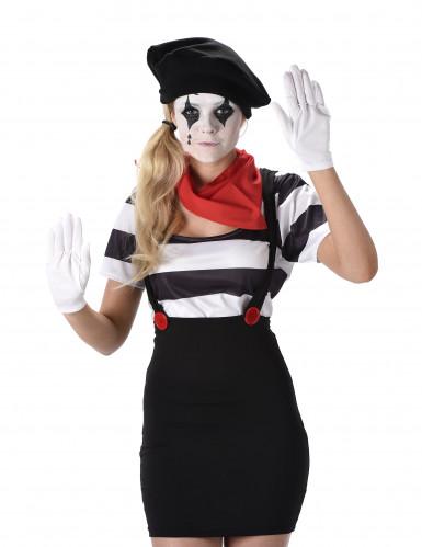 Pantomimen Kostüm für Damen-1