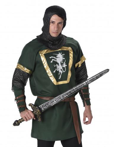 Einhorn-Ritter-Kostüm für Herren bunt-1