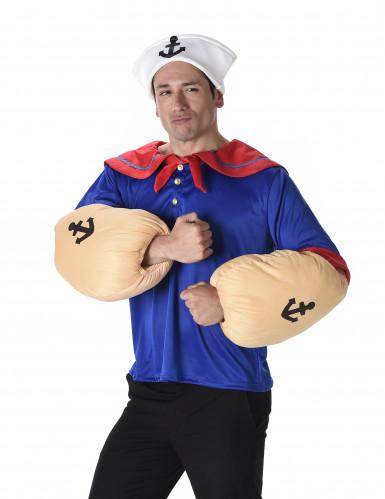 Muskulöser Seeman Kostüm für Herren-1