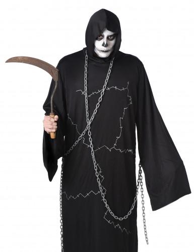 Tod Kostüm für Herren angekettet Halloween-1
