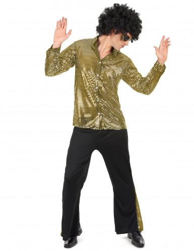 Goldenes Disko Kostüm