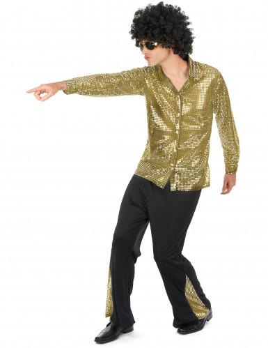 Goldenes Disko Kostüm-1